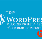 Content Marketing tools plugins for WordPress blogs