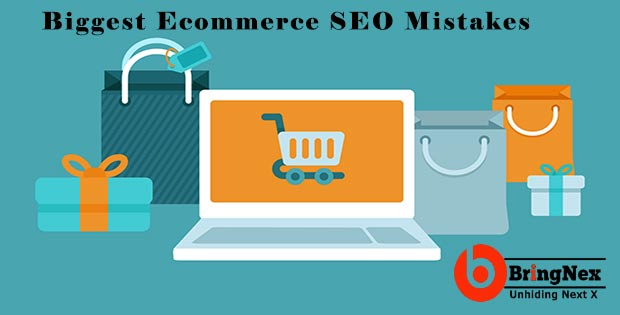 biggest ecommerce seo mistakes